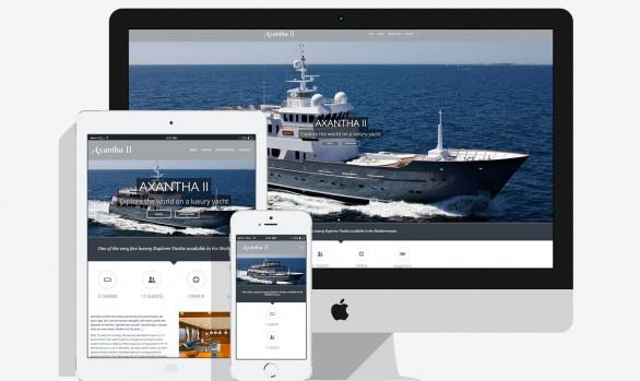 Axantha II Luxury Yacht