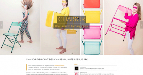 CHAISOR - chaises pliantes